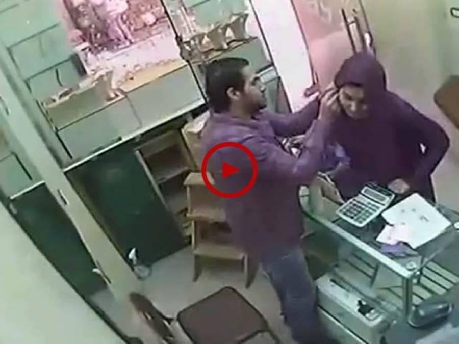 اس ویڈیو میں ڈاکوحسینہ کی واردات کا انوکھا طریقہ دیکھیں۔ ویڈیو: میاں یوسف۔ لاہور