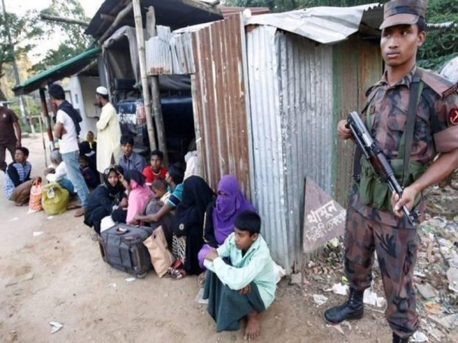 بنگلہ دیش نے31 روہنگیا پناہ گزینوں کی کشتی واپس بھیج دی