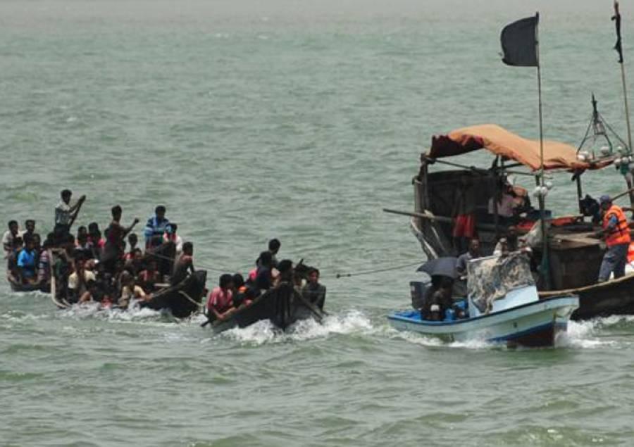 روہنگیا مہاجرین کی کشتیاں ڈوبنے سے کم از کم 26 افراد جاں بحق