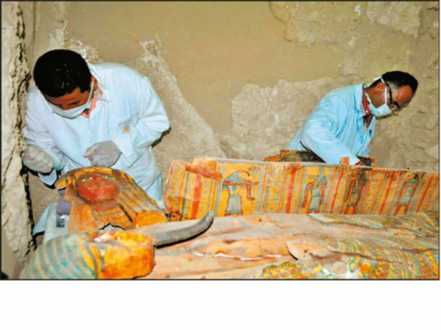 مصرمیں 35 سو برس سے زائد دور کے قدیمی مقبرے کی دریافت