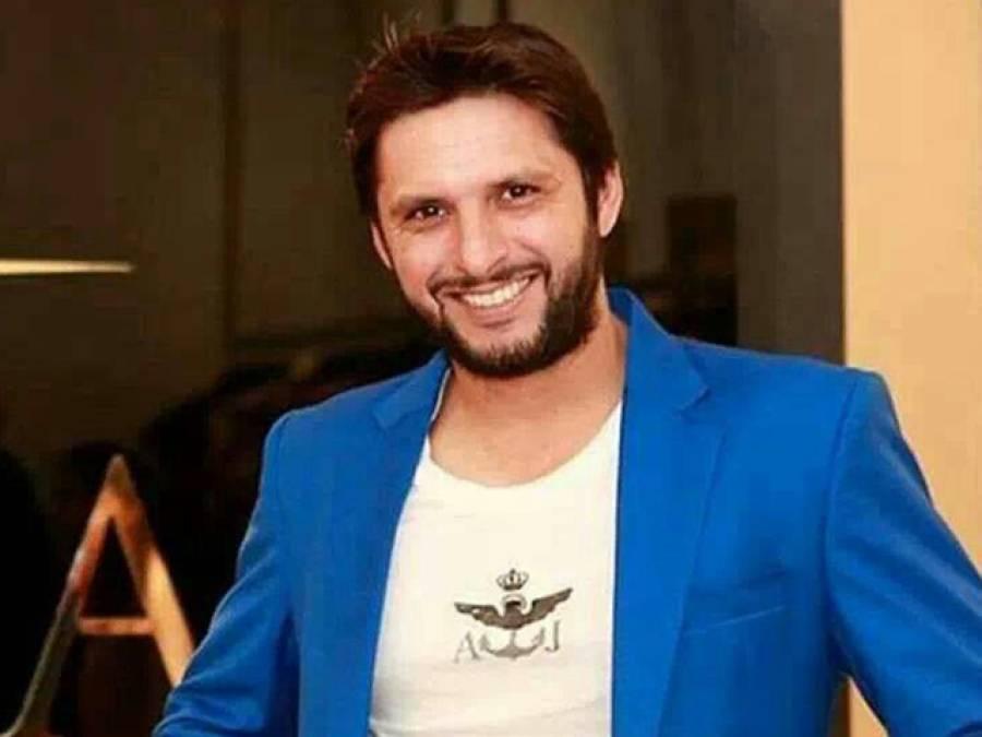 پاکستانی کراﺅڈ سے الوداعی ملاقات کے لیے لاہور آیا ہوں:شاہد خان آفریدی