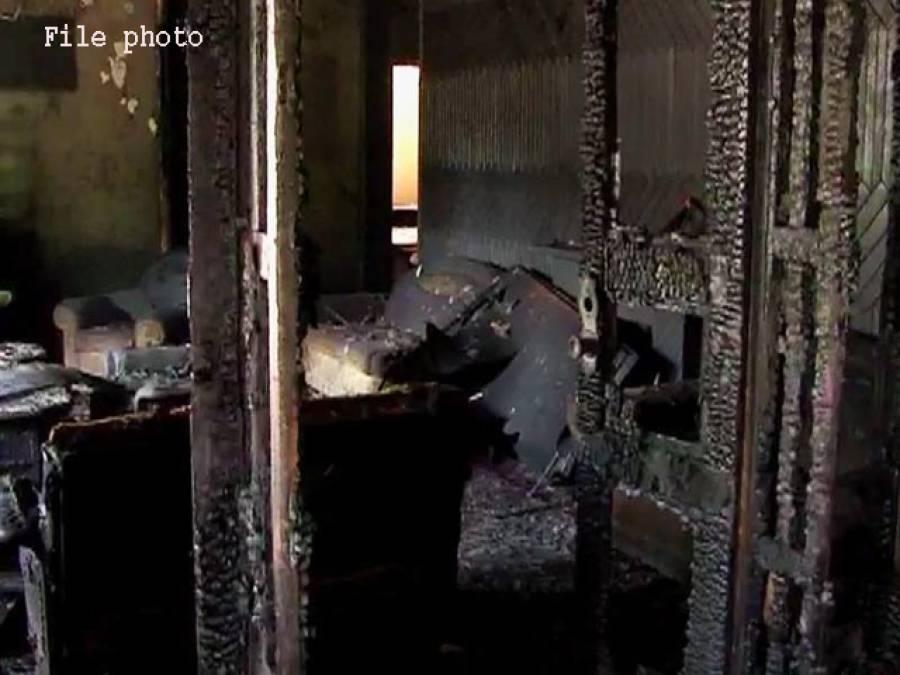 دیربالا،گھر میں آتشزدگی سے 6 بچے جھلس کر جاں بحق