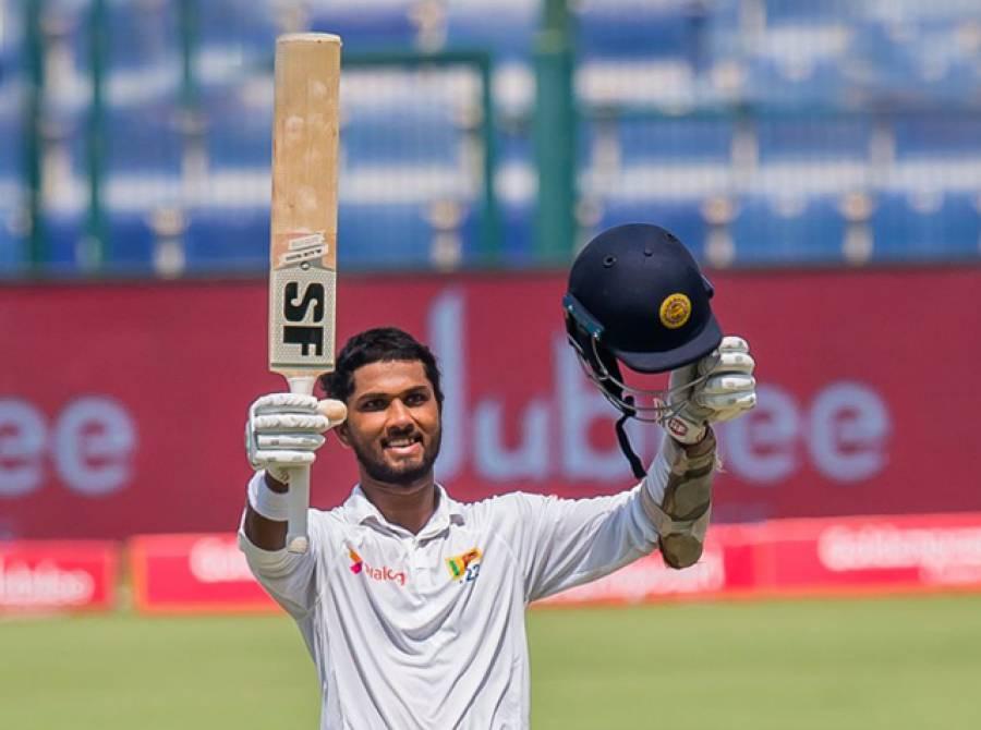 ابو ظہبی ٹیسٹ: سری لنکا کے 419رنز کے جواب میں پاکستان نے بغیر کسی نقصان کے 64رنز بنا لیے