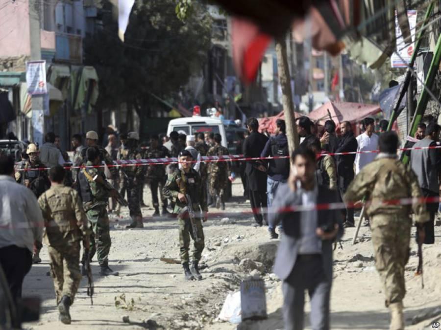 افغانستان، مسجد کے باہر خود کش حملہ،4افراد جاں بحق،16زخمی