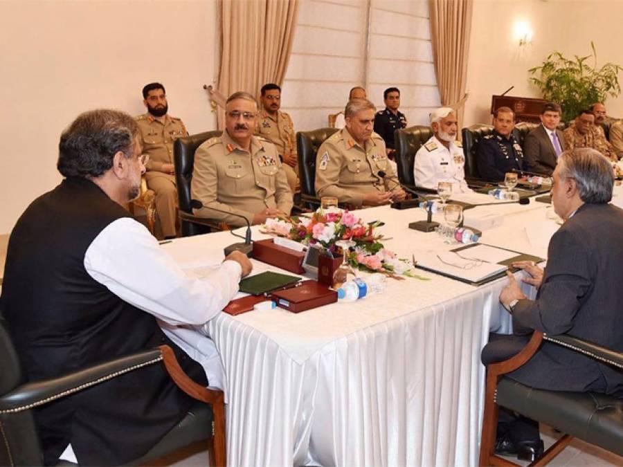 پاکستان عالمی اور علاقائی رہنماﺅں سے رابطوں کا سلسلہ جاری رکھے گا:قومی سلامتی کمیٹی
