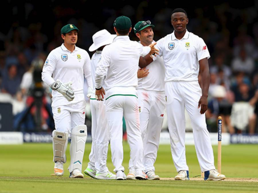 جنوبی افریقہ کے 496رنز کے جواب میں بنگلہ دیش نے 3وکٹوں کے نقصان پر 127رنز بنا لیے