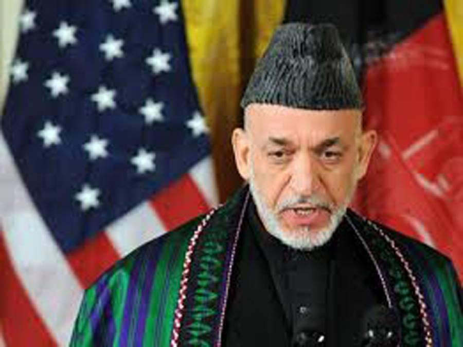 علاقائی ممالک افغانستان سے جنگ ختم کرنے میں اشرف غنی حکومت کی مدد کریں:حامد کرزئی کی اپیل