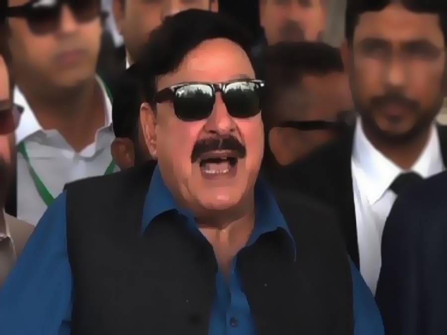 مسلم لیگ ن کا ایجنڈا پاکستان کو لیبیا، عراق اور شام کی طرح تباہ کرنا ہے: شیخ رشید