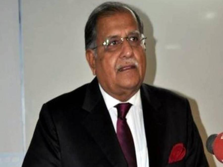 آئی بی کے مبینہ خط کا معاملہ ختم ، حکومت اے آروائی نیوز کے خلاف کارروائی نہ کرے: ریاض پیرزادہ