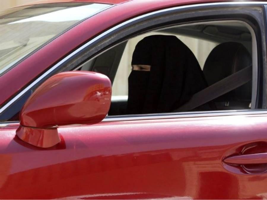 سعودی عرب کا ائندہ سال جون سے قبل ڈرائیونگ کرنے والے خواتین کو جرمانے کرنے کا انتباہ