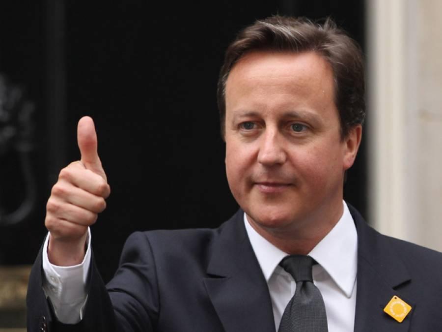 سابق برطانوی وزیراعظم کیمرون نے امریکی کمپنی میں ملازمت اختیار کرلی