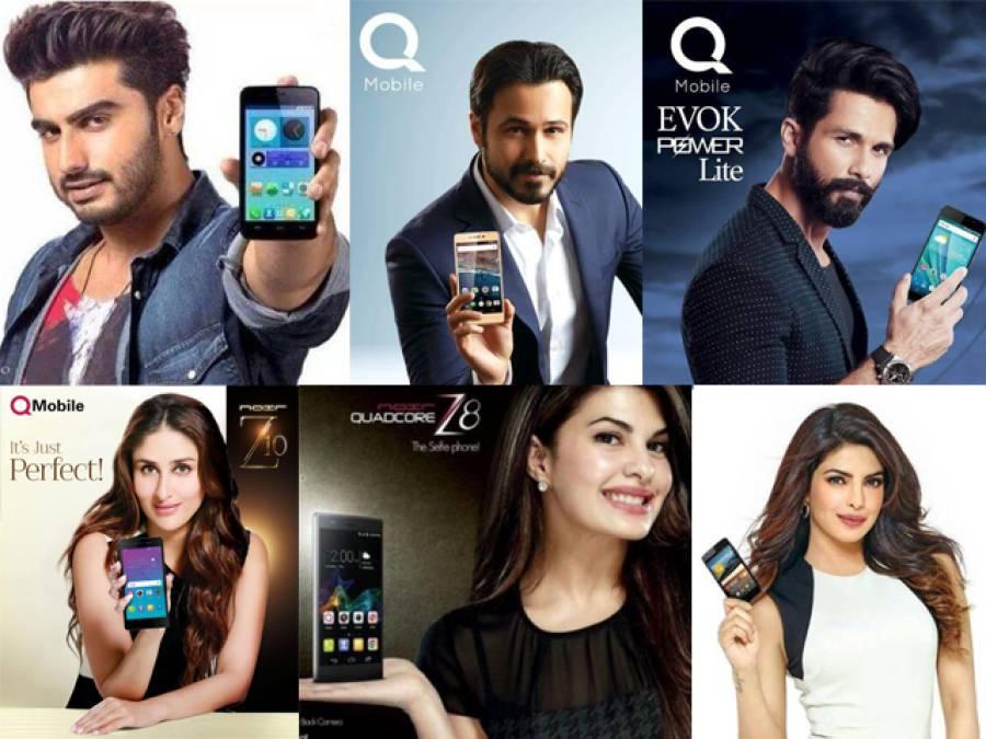 کیو موبائل کمپنی کی بھارتی اداکاروں کو 30 کروڑ ادائیگی، ٹیکس کے کروڑوں ڈکار گئی
