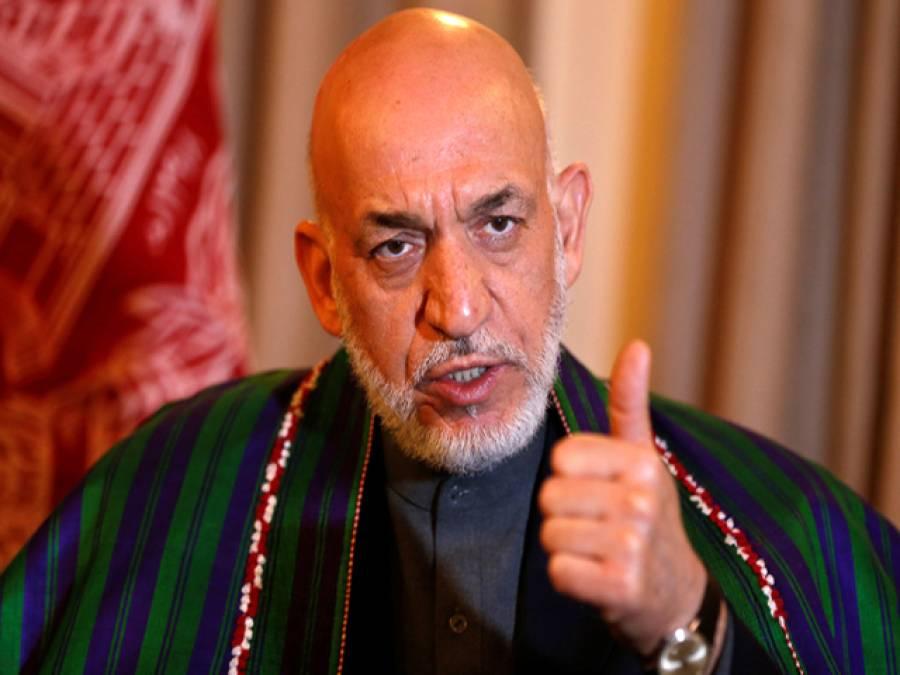 امریکہ کی چھتر چھایا میں داعش نے افغانستان میں پنجے گاڑے: حامد کرزئی