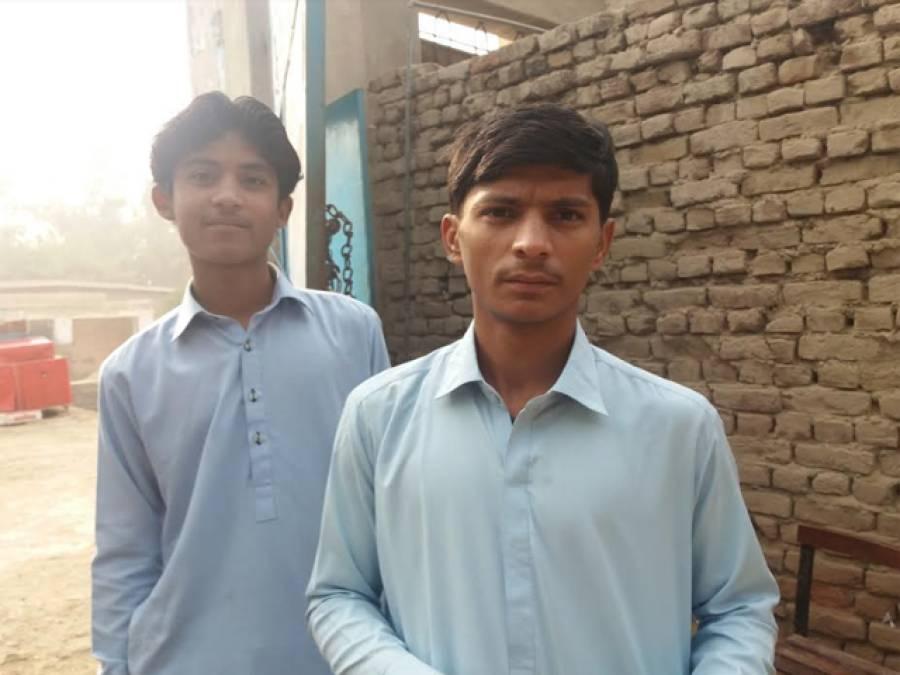 اوستہ محمد کے طالب علم اپنے ہی سکول کے چوکیدار
