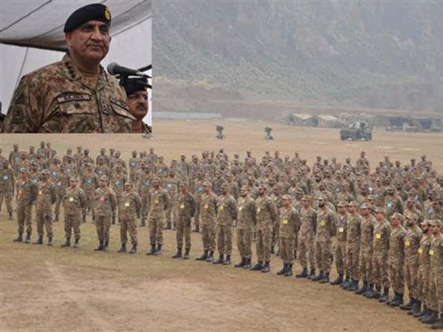 دنیا کی کوئی طاقت پاکستان کوختم نہیں کرسکتی: آرمی چیف