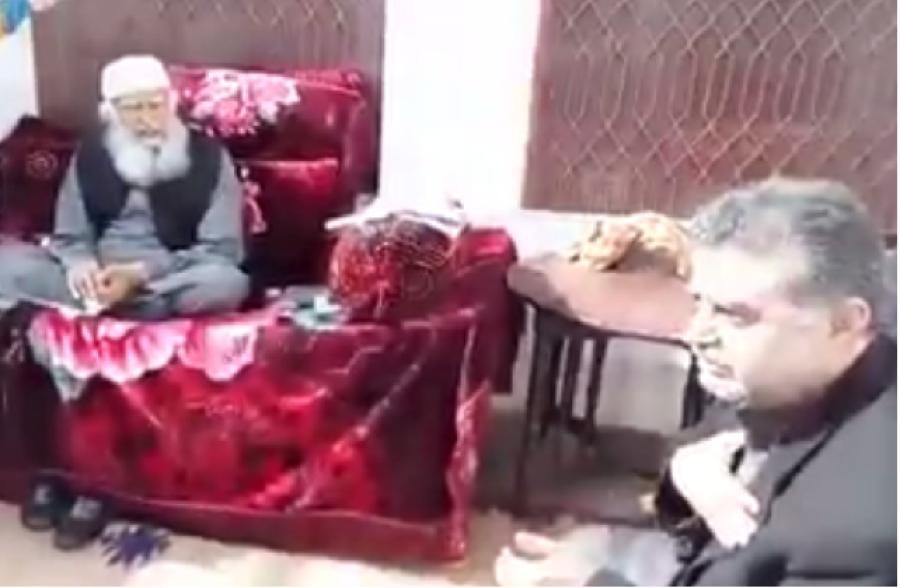 زعیم قادری کی پیرآف سیال شریف سے ملاقات، رانا ثناءاللہ ٹی وی پر قوم سے معافی مانگ کر تجدید ایمان کرائیں: حمید الدین سیالوی