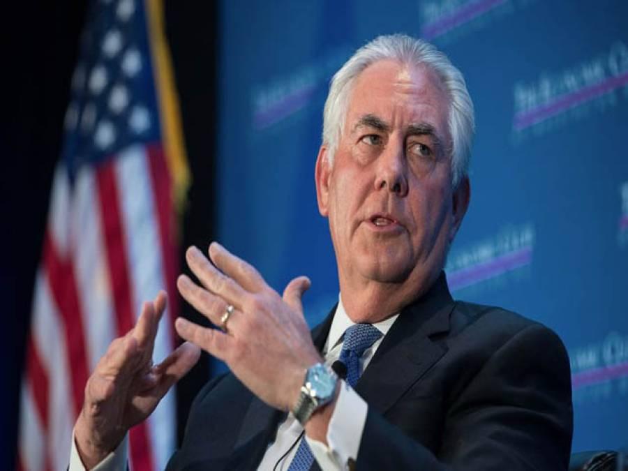 امریکہ شمالی کوریا سے مذاکرات کے لیے تیارہے:ریکس ٹلرسن