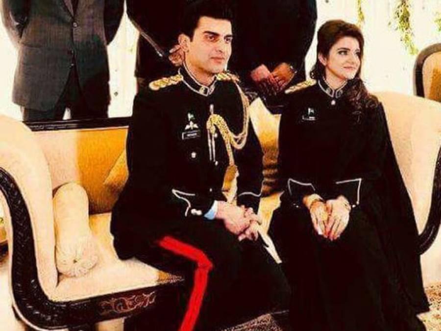 پاک فوج کے میجر اور خاتون کیپٹن کی شادی، وردی میں شادی کی ایسی تصاویر بنواڈالیں کہ پاکستانیوں کے دل جیت لیے