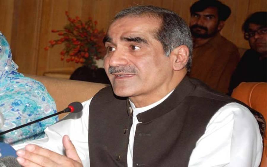 عمران خان اور طاہر القادری سیاسی سٹنٹ مین اوردونوں کی سوچ فاشسٹ ہے، سعد رفیق