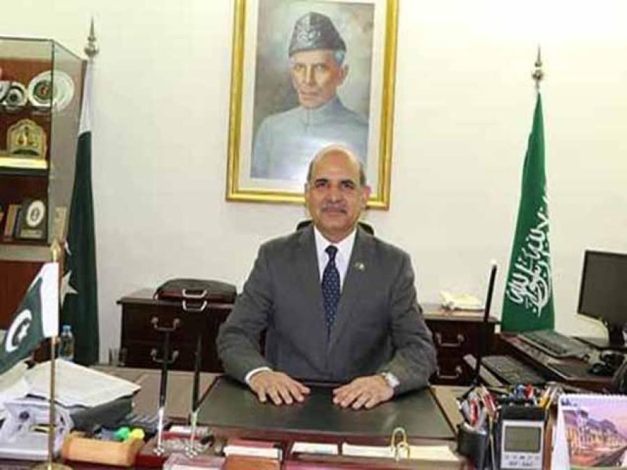 پاکستان کے سفیر کی سعودی وزیرمحنت و سماجی بہبود سے ملاقات