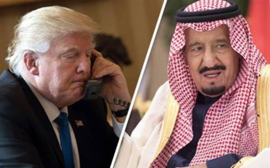 سعودی عرب پر میزائل حملے کی کوشش، امریکہ بھی میدان میں کود پڑا، ٹرمپ نے سعودی بادشاہ کو فون کرکے وہی بات کہہ دی جو پاکستان ایک عرصے سے کہتا چلا آرہاہے