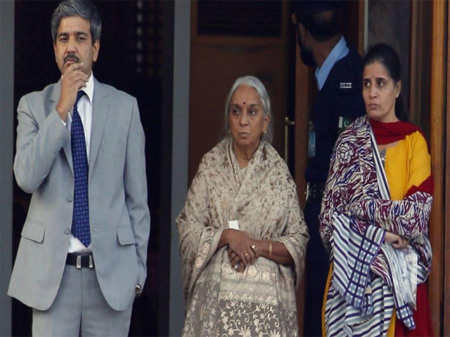 """""""نہیں !یہ بات منہ سے نہ نکالو""""ملاقات کے دوران کلبھوشن یادیو نے کیا بات کہی تو اس کی ماں اسے روکنے لگی ،بھارتی میڈ یا نے ہی بھانڈا پھوڑ دیا ،بلآخر سچ دنیا کے سامنے آگیا"""