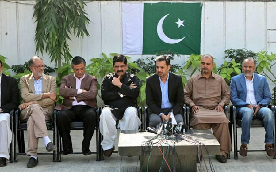 ہماری بات کراچی والوں کے دل میں اتری،ہمیں گالیاں دینے سے وزیراعلیٰ سندھ کی جان نہیں چھوٹے گی:مصطفیٰ کمال