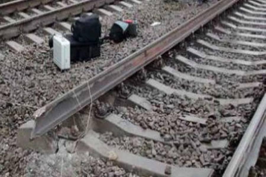 ڈیرہ مراد جمالی میں ریلوے سٹیشن کے قریب ٹریک پردھماکہ