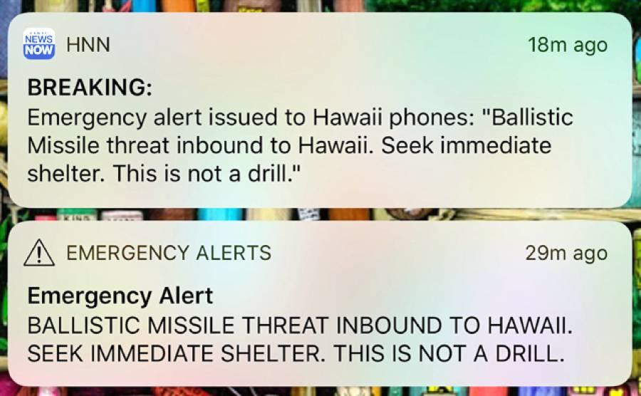 """""""پیغام پھیلا تو جو لوگ فحش فلمیں دیکھ رہے تھے وہ۔۔۔"""" دنیا کی معروف ترین فحش ویب سائٹ نے ہوائی میں میزائل حملے کا پیغام پھیلنے کے بعد پیش آنے والے ایسے انوکھے کام کے بارے میں بتا دیا کہ پوری دنیا دنگ رہ گئی"""