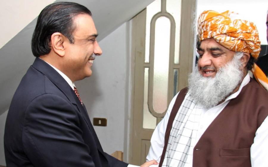فضل الرحمن کی آصف زرداری اور وزیر اعلیٰ پنجاب شہباز شریف سے ملاقاتیں ، ملکی سیاسی صورتحال پر تفصیلی تبادلہ خیال