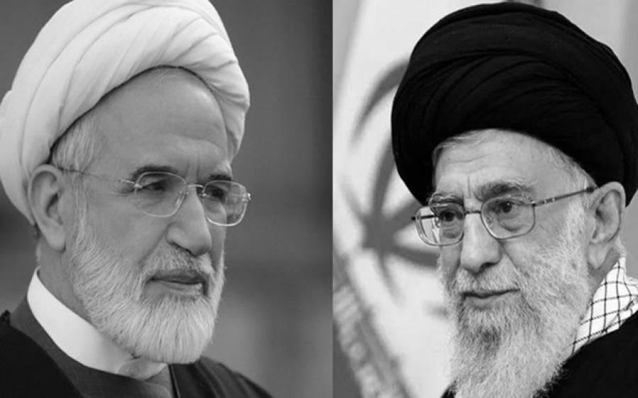 عوامی احتجاج کا سبب خامنہ ای کا ذمے داری قبول نہ کرنا ہے:سابق ایرانی سپیکرپارلیمنٹ