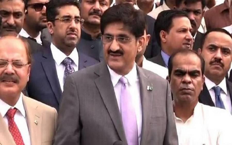 کراچی کی تمام نشستوں پر الیکشن لڑ رہے ہیں، امید ہے سینیٹ انتخابات میں کامیابی حاصل کریں گے، مراد علی شاہ