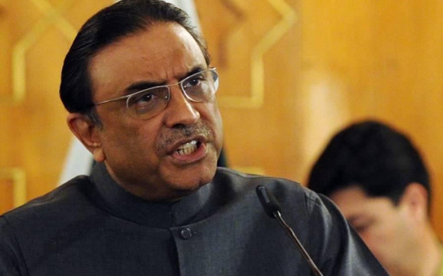 زرداری سے لیگی رہنما نوابزادہ انیس خان کی ملاقات، پی پی میں شمولیت کا اعلان
