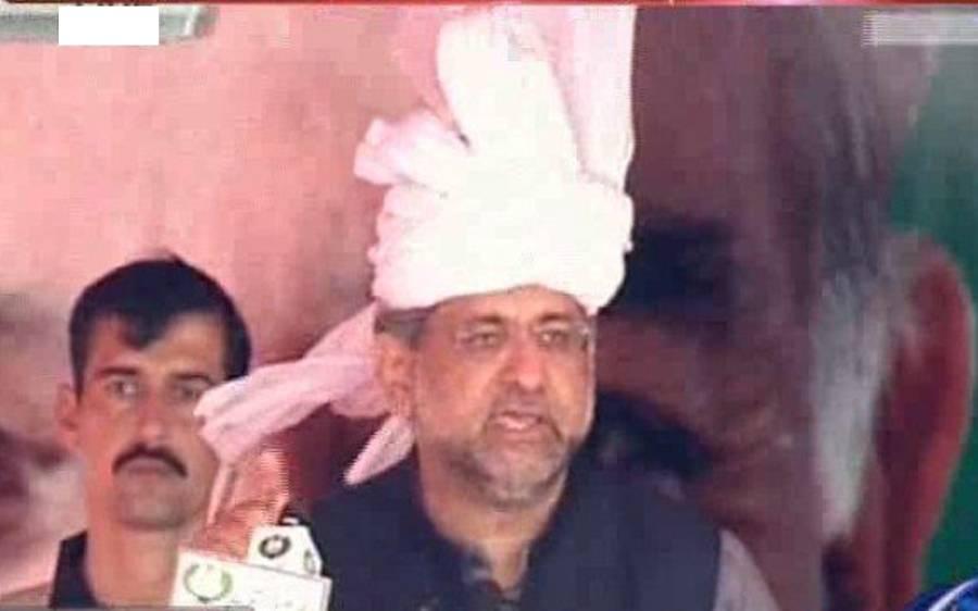 کوئی حکومت ہمارے ترقیاتی منصوبوں کا مقابلہ نہیں کرسکتی، شاہد خاقان عباسی