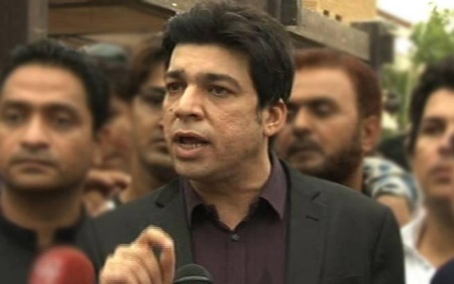 فاروق ستار 4نشستیں فروخت کرچکے ،ساڑھے 3کروڑ قیمت لگائی:فیصل واوڈا