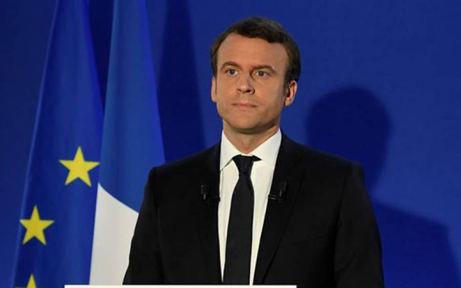 فرانسیسی صدر کا روسی ہم منصب پیوٹن سے شام میں مظالم بند کرانے کا مطالبہ