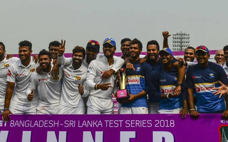 سری لنکادوسرے ٹیسٹ میچ میں فاتح،سیریز بھی 1-0سے اپنے نام کرلی