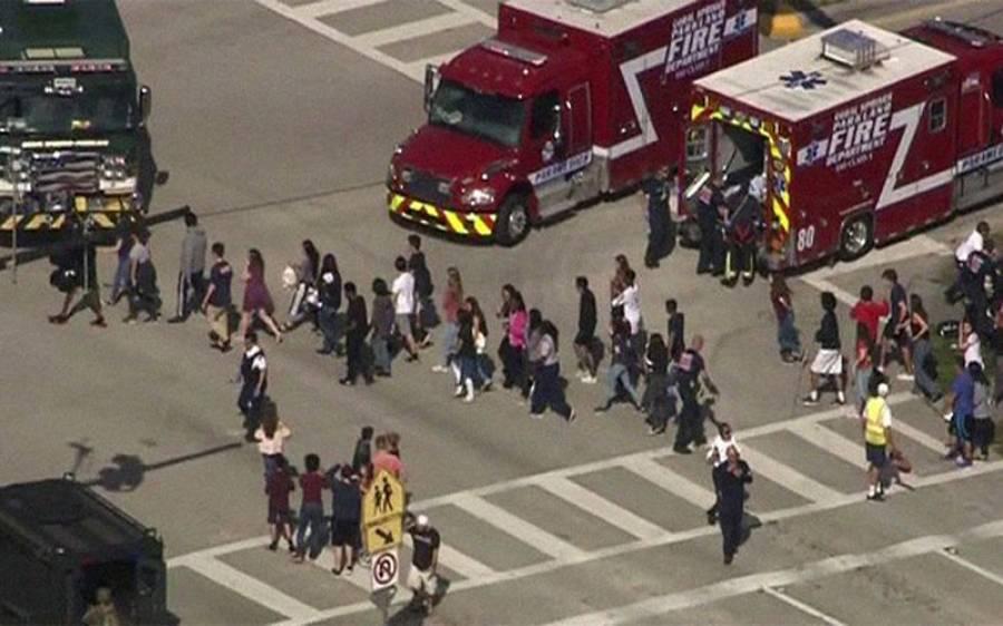 امریکی ریاست فلوریڈا کے سکول میں فائرنگ، 17 افراد ہلاک