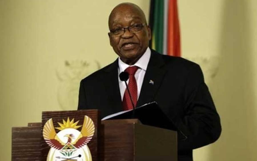 جنوبی افریقہ ، صدر جیکب زوما نے کرپشن الزامات پر استعفا دے دیا