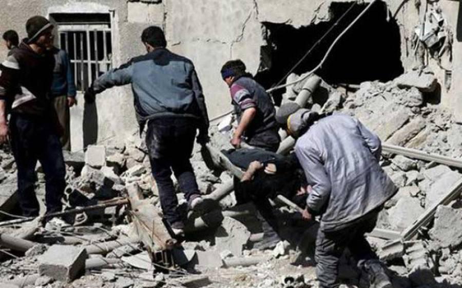 شام کے شہر غوطہ میں ہلاکتوں کی تعداد ایک ہزار سے تجاوزکرگئیں