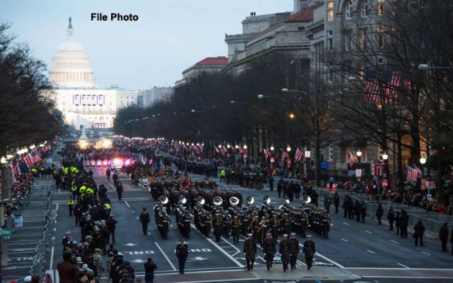 امریکہ کا واشنگٹن کی سڑکوں پر بڑی فوجی پریڈ منعقد کرنے کا اعلان