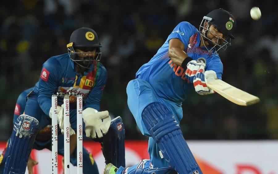 ندہاس ٹی ٹوئنٹی سیریز،بھارت نے با آسانی سری لنکا کو 6وکٹوں سے شکست دے دی