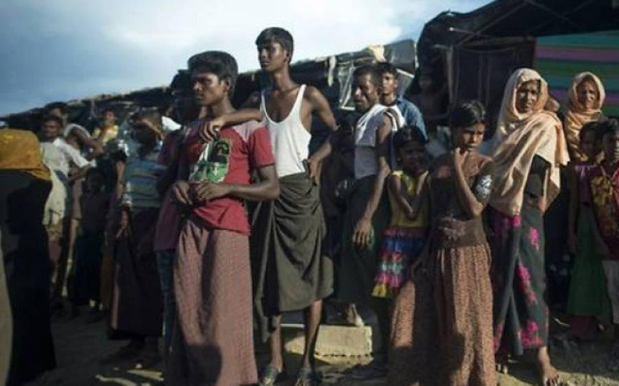 میانمار میں روہنگیا مسلمانوں کے تباہ ہونے والے علاقوں میں فوج نے اب کیا چیز تعمیر کرنا شروع کردی؟ جان کر ہر مسلمان کی آنکھوں سے آنسو نکل آئیں