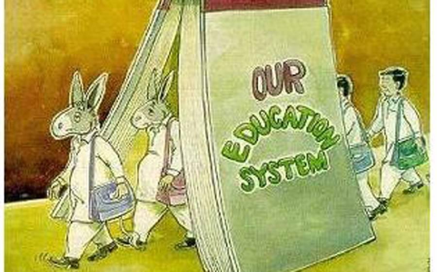 ملک تعلیمی نظام کی وجہ سے تقسیم ہوتا چلا جارہا ہے