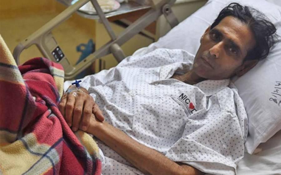 اولمپین منصور احمد کی علاج کیلئے بھارت سے اپیل