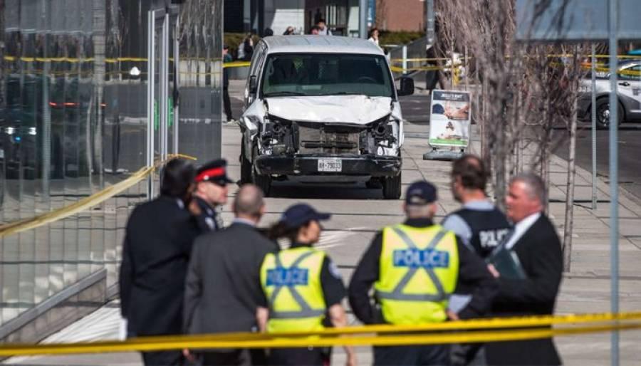 کینیڈا میں گاڑی راہگیروں پر چڑھا دی ، 10 افراد ہلاک ، دہشت گردانہ حملہ ہونے کا امکان