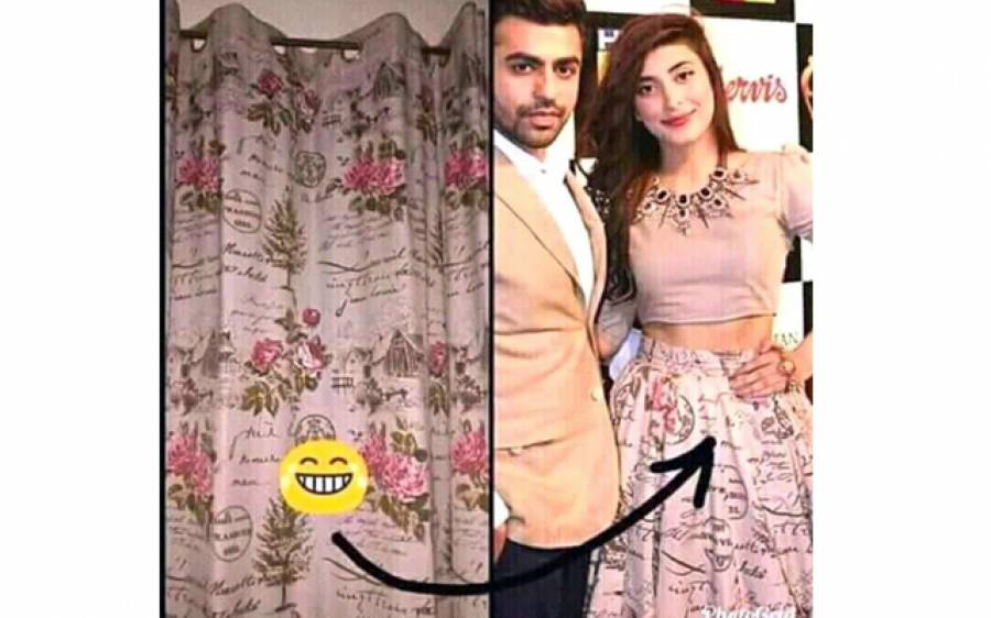 عروہ حسین کے لباس میں استعمال ہونے والا یہ کپڑا دراصل کس کام کیلئے استعمال کیا جاتا ہے؟ ایسی تصویر سامنے آ گئی کہ سوشل میڈیا پر ہنسی کا طوفان برپا ہو گیا، دیکھ کر عروہ حسین شائد یہ لباس دوبارہ کبھی نہ پہنیں
