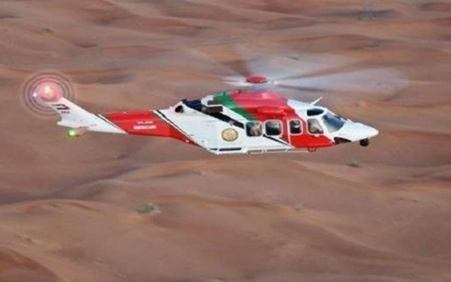 متحدہ عرب امارات کے صحراءمیں پھنسے پاکستانی کو ہیلی کاپٹر کے ذریعے یقینی موت سے بچالیا گیا، وہاں کیسے پھنس گیا؟ جان کر ہی آپ کو ڈر لگنے لگے