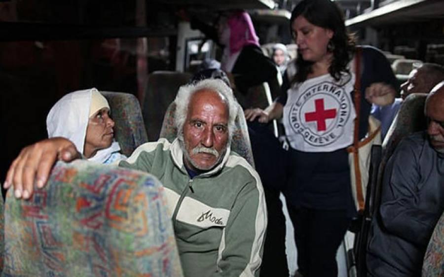 غزہ ، 20 فلسطینیوں کی اسیر اقارب سے ملاقات