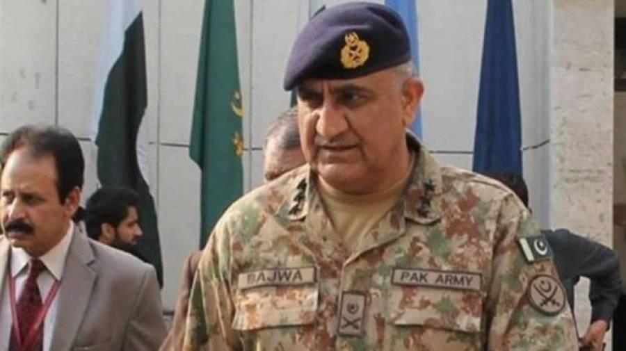آرمی چیف باجوہ نے پی سی بی چیئرمین کو پاکستان میں دوبارہ کرکٹ بحال کرنے پر مبارکباد پیش کی